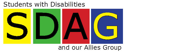 SDAG- Students with Disabilities and their Allies Group