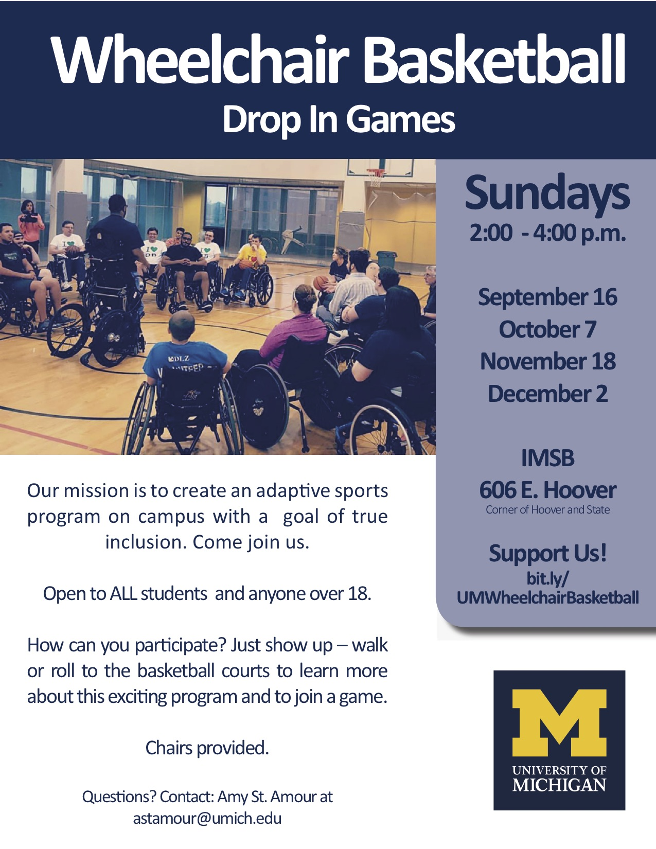 wheelchair basketball flyer