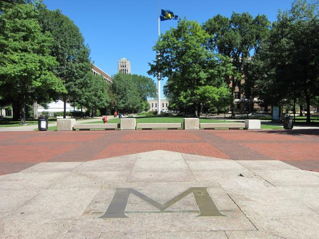 The M on the Diag