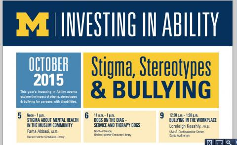 Investing in Ability events Oct 5-11th