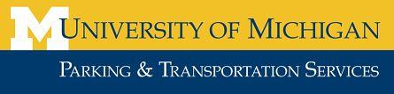 U-M Parking and Transportation Services logo
