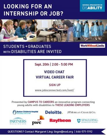flyer - national organization on disability